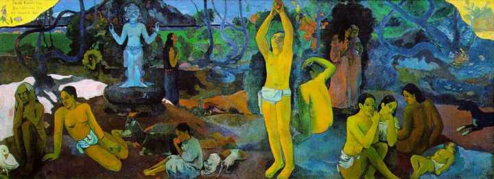 Where Do We Come From? What Are We? Where Are We Going? 1898, Paul Gauguin