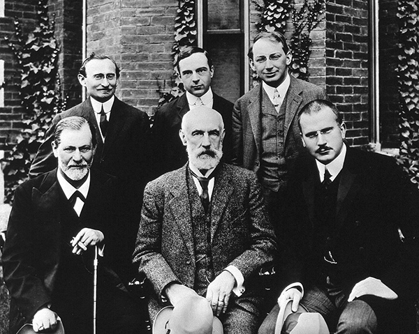 Carl Gustav Jung and Sigmund Freud