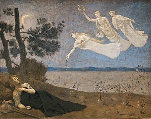 THE DREAM, Pierre Puvis de Chavannes