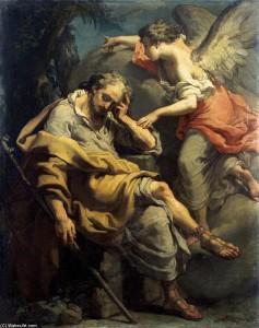 Joseph's dream, Gaetano Gandolfi
