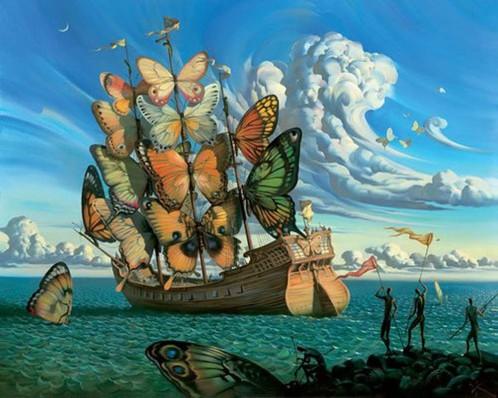 The Dream, Vladimir Kush