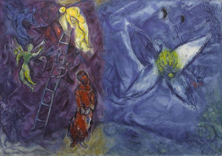 Le songe de Jacob, Marc Chagall